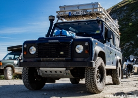 Land Rover TD5 am Colle del Finestre