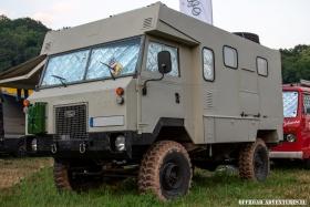 Land Rover 101 von offgemöbelt.de auf der Abenteuer Allrad