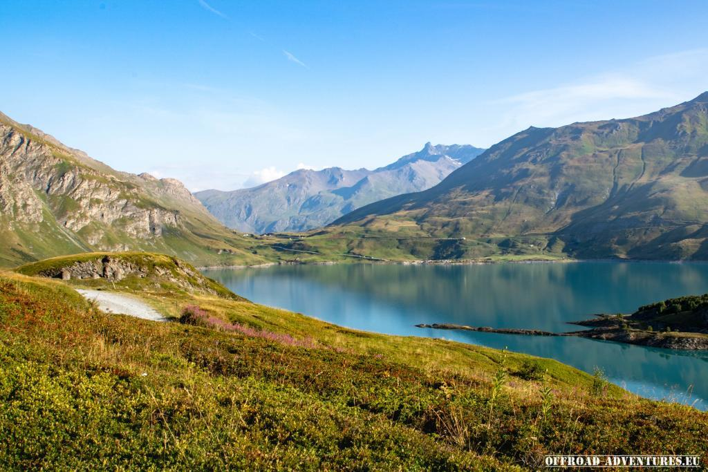 Der Lac du Mont Cenis am Morgen