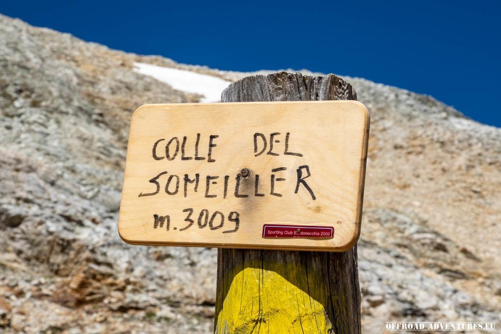 Colle del Sommeiller 3009m